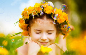 Lass' Blumen sprechen