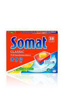 Eine Packung Somat Classic