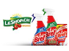 Bref-Produkte bei LeShop.ch