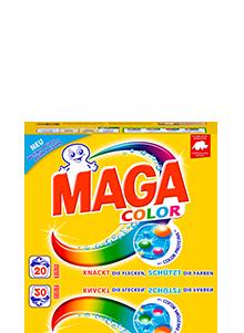 Eine Packung MAGA Color Pulver