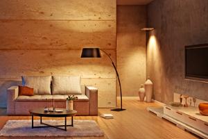 ins rechte licht gerückt: tipps zu lampen & co. - henkel lifetimes, Wohnzimmer