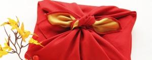 Gib Stoff für kreative Geschenk-Verpackungen