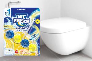 WC Frisch Einhänger und Toilette