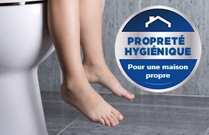 Débutants, attention: le nettoyage des toilettes