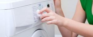 Das erste Mal: Wäsche waschen