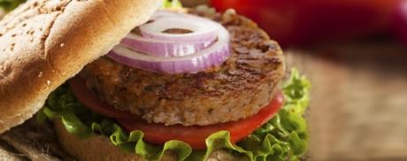 Burger vom Grill