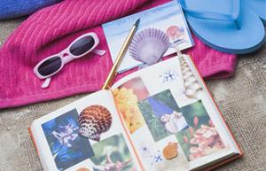 Ferien-Scrapbook: Erinnerungen in Szene setzen
