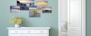 Collage de photos de vacances à renouveler