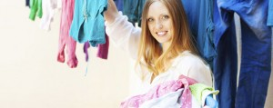 Wäsche waschen & trocknen im Keller