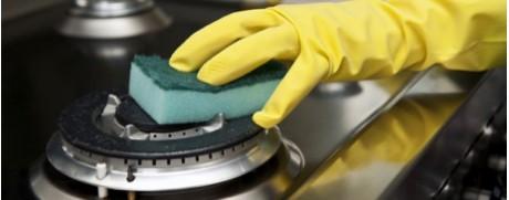 Débutants, attention: nettoyage de la cuisinière