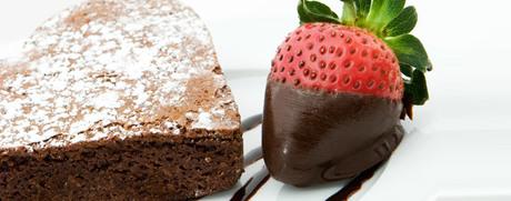Herz-Brownies
