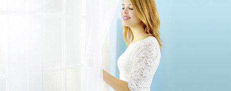 Das erste Mal: Vorhänge waschen