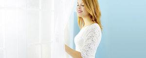 Éclatant au printemps : laver les rideaux