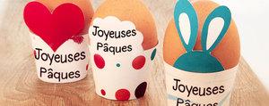 Idée de bricolage: une déco de Pâques à imprimer