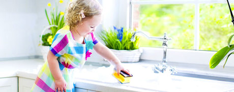 Kinderleichte Haushalts-Tipps für Eltern