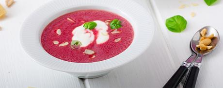 Randen-Suppe mit Bacon-Speckchips
