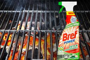 Bref Power Fett & Eingebranntes für einen mühelos sauberen Grill