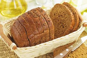 Krümel vermeiden mit einem Brotkorb