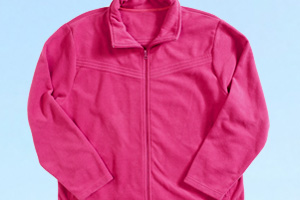 Outdoor-Sportbekleidung: Fleecejacke