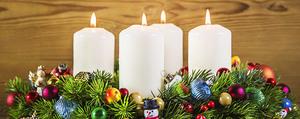 5 Adventskranz-Ideen zum Selbermachen