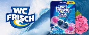 Neu: WC FRISCH Blau Kraft-Aktiv Blüten-Frische!