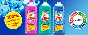 X-TRA: Faltbare Eco-Flasche für weniger Abfall