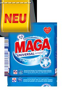 Eine Packung MAGA Universal Compact