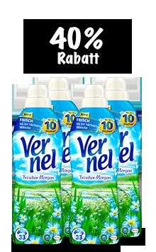 Vernel Frischer Morgen (4 x 1 l Quattro)