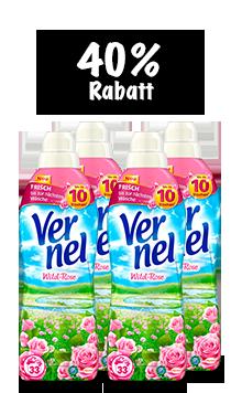 Vernel Wild-Rose (4 x 1 l Quattro)