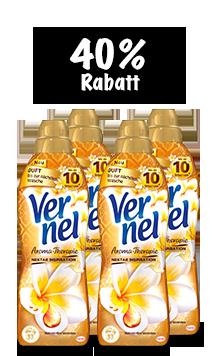 Vernel Aroma-Therapie Balsam-Öl & Orchidee (4 x 1 l Quattro)
