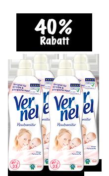 Vernel Hautsensitiv (4 x 1 l Quattro)