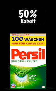 Persil Pulver (100 Wäschen)
