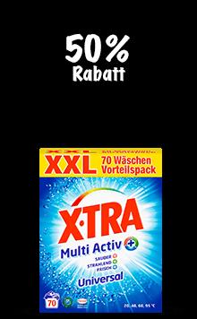 X-TRA Multi Activ Pulver (70 Wäschen)