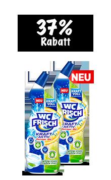 WC Frisch Kraft-Aktiv Reiniger (2x 750ml) im Duo