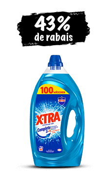 X-TRA Gel (100 lessives)
