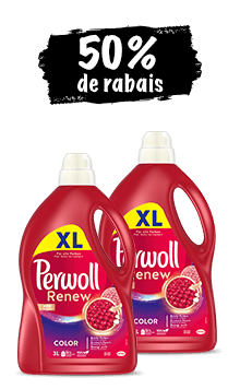 Perwoll Care & Refresh, Black, Color, White, Sport, Care & Repair  (2 x 3l) en lot de 2