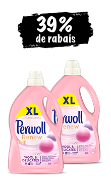 Perwoll Wool & Delicates (2 x 3l) en lot de 2