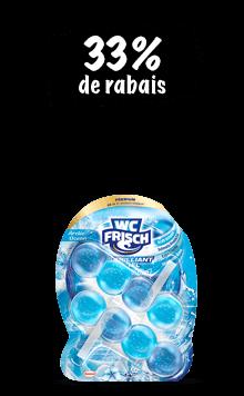 WC Frisch blocs Kraft-Aktiv (3x 50g) en lot de 3