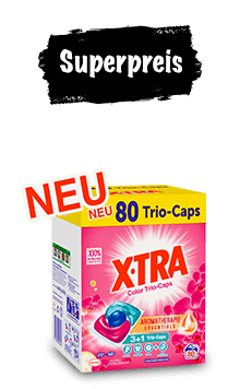 X-TRA Caps (80 Wäschen)