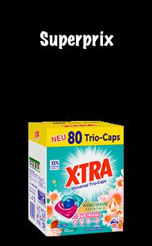 X-TRA Caps (80 lessives)