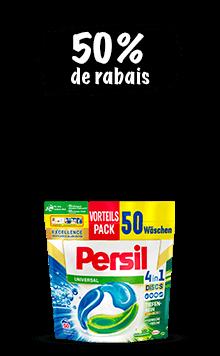 Persil DISCS (50 lessives)