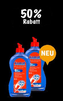 Somat Spülglanz Extra (2 x 500 ml) im Duo
