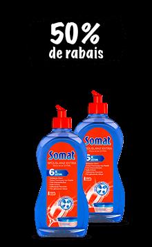 Somat Rince-éclat (2 x 500 ml) en lot de 2
