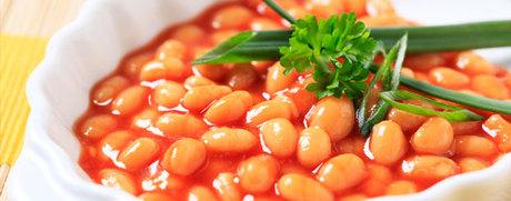 Weisse Bohnen in Tomatensauce