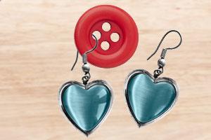 Nie wieder getrennte Ohrring-Paare dank Knopf