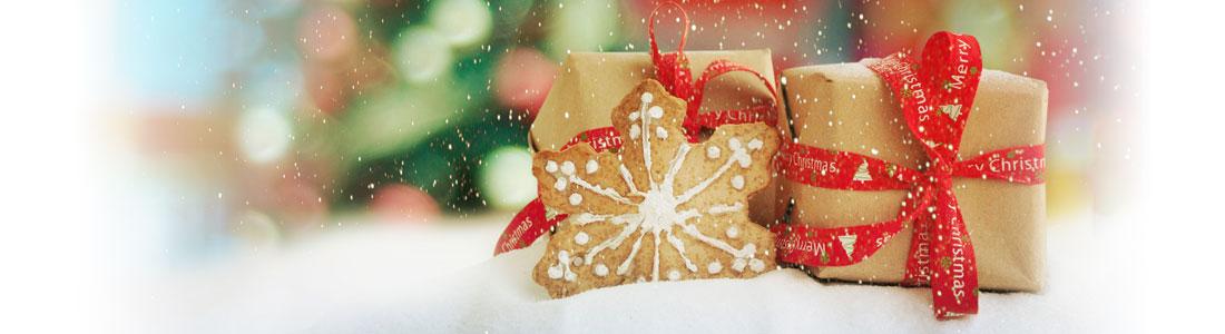 Weihnachten: Süße Geschenk-Anhänger aus Keksen