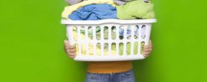 Wäsche sortieren in 4 Schritten