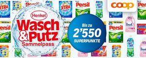 Henkel-Produkte kaufen und profitieren – bei Coop!