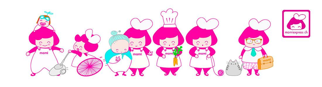 Mamiexpress Dienstleistungen auf einen Blick: Von Babysitting bis Seniorenbetreuung