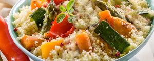 Couscous aux asperges